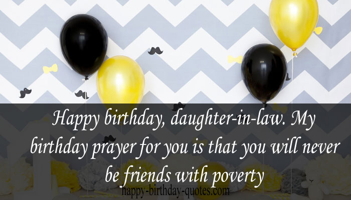 funny Birthday Wishes for Daughter-in-law