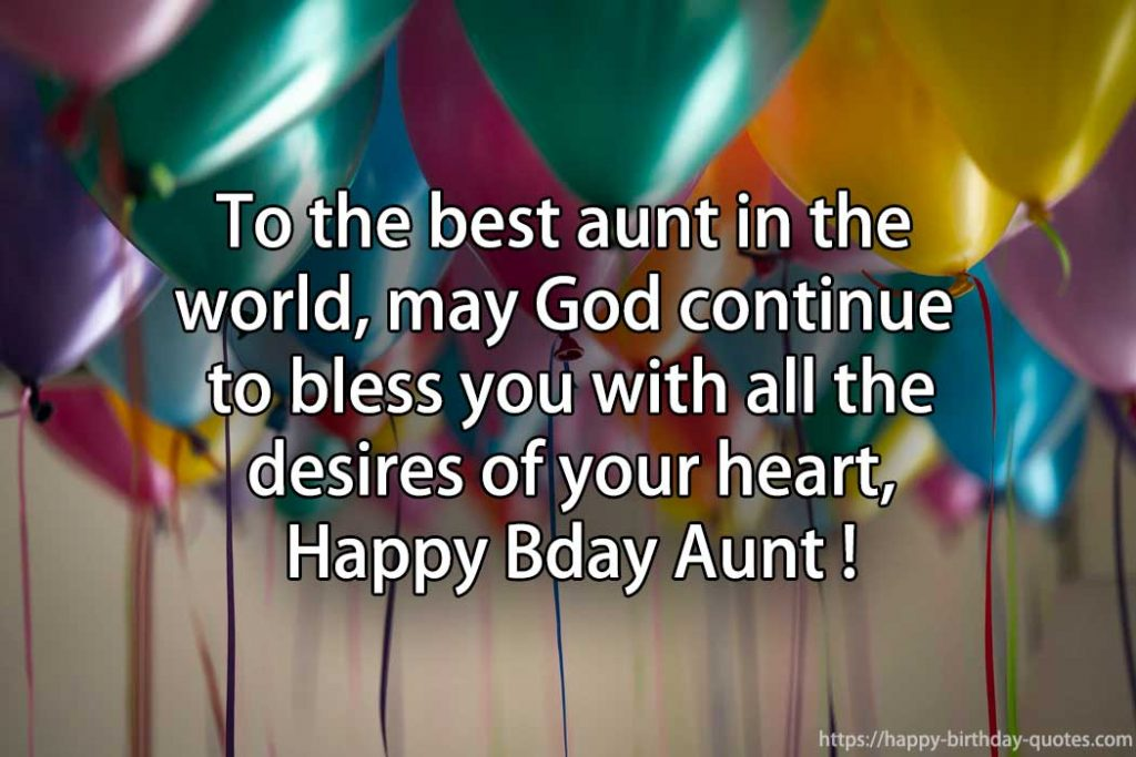 happy birthday aunt quotes and images