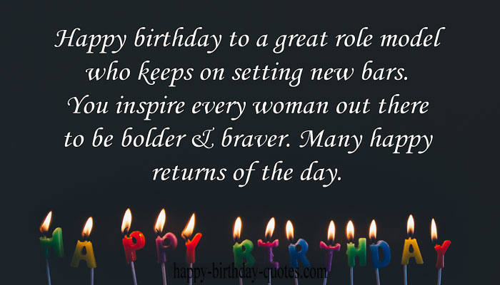 Happy birthday boss lady quotes