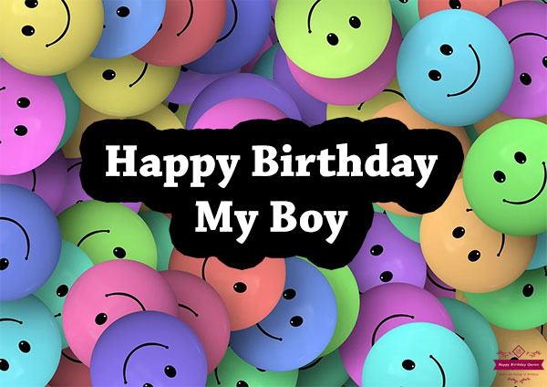 Birthday Wishes For Kids Boy