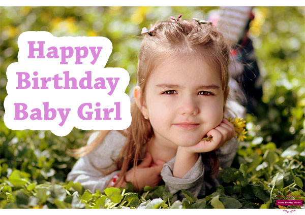 Birthday Wishes For Kids Girl