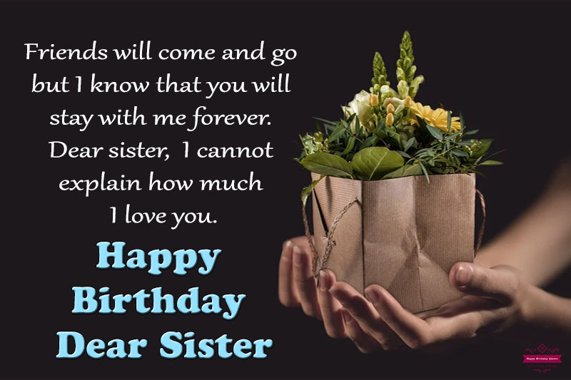 Birthday Wishes for Sister like friend