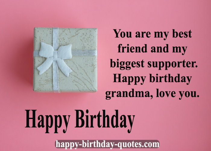 Happy birthday Wishes Grandmother