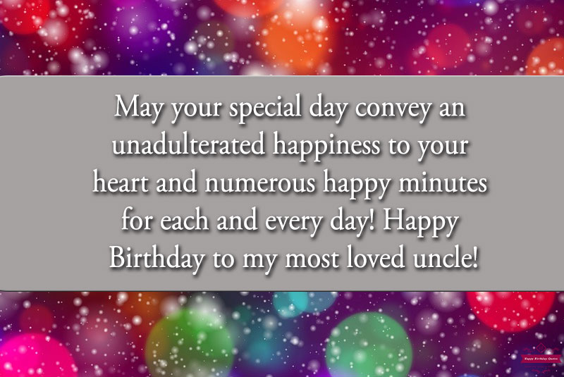 Best Birthday messages for Uncle