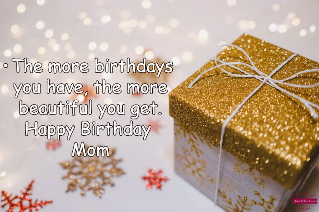 Happy Birthday Messages Mom