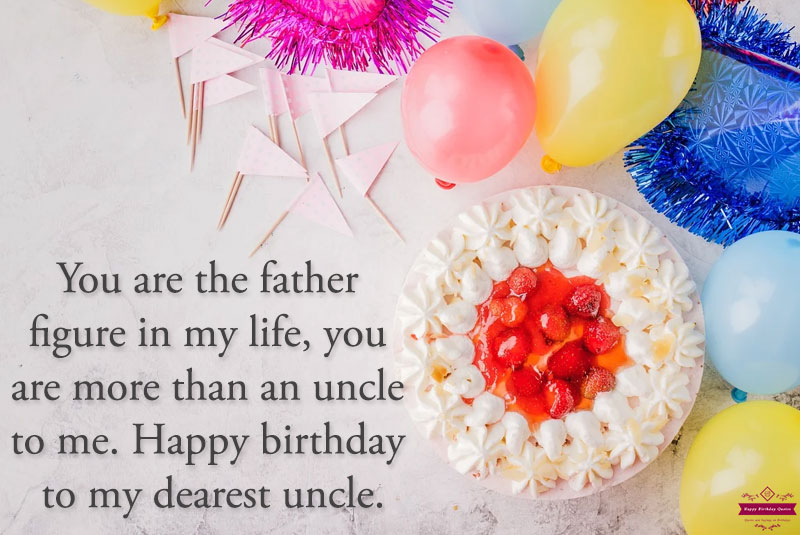 Happy birthday Sms for uncle